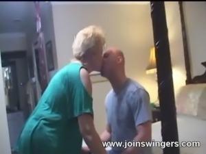 Mature swinger blowjob free