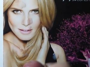 Heidi Klum Cum Tribute Bukkake No. 1