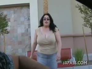 Great fuck with fattie free
