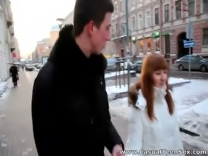 Casual Teen Sex - Warm sex on a cold winter day free