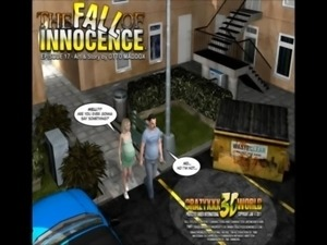 3D Comic: The Fall of Innocence 17-18 free