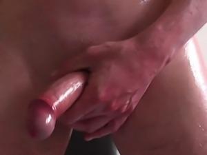 Cock closeup twitching and cuming compilation