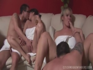 CZECH AMATEURS AT BIGGEST SWINGERS PARTY free