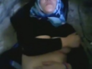 Tunisian Hijab Girl Fucked In Public