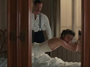 Keira Knightley spanked
