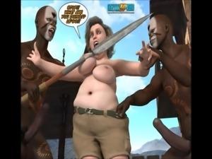 3D comic: Neue Rasse 5-7 free