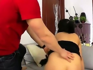 Bella Marchelli may have tried anal before but she never had her butt...