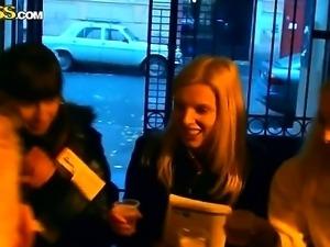 Celebrating exams with the hottest college whores Elizabeth, Kamila, Marya,...