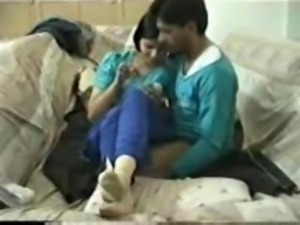 Indian desperate GF with BF wow