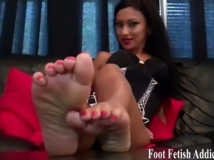 Foot fetish worship talk