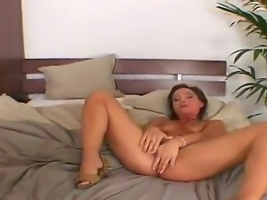 A veiny thick pulsating cum gun drills into a meat hole of a smoking hot...