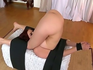 Ivana Sugar fucked by sexy boyfriend in front of her Japanese massage and...