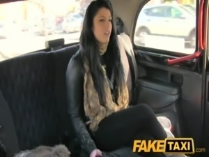 FakeTaxi Suck my cock or walk home free