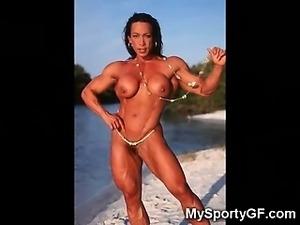Hardbody GFs and Nude Muscled Girls!