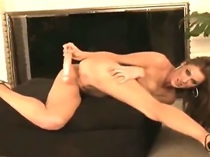 Kayla Paige is one horny bitch who needs a cock in her pussy, but until that...