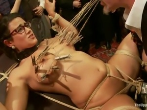 tied up and humiliated