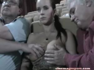 Groped In Cinema 4 free