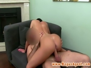 Office fucking for new client during casting with her new agent free