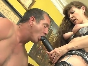 Alexandra Silk is getting wet snatch fucked so hard by Paul Carrigan before...