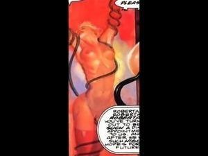 Evil amazon women capture huge breast blonde for weird anal penetration...