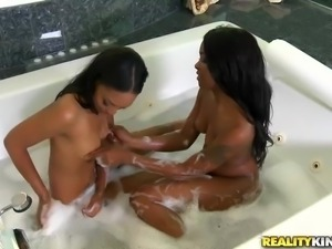 two ebony babes in need of a huge dick