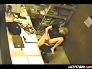 Security Cam Voyeur Girl Caught Mastrubating