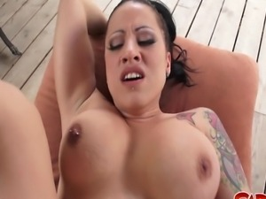 Hardcore outdoor fucking at its best