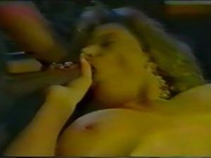 Tracey Adams - Interracial Threesome