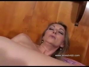 son in bed with anal mom free