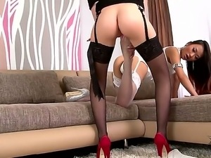 Lesbian scene with Jessyka Swan and PussyKat it is exactly what you should...