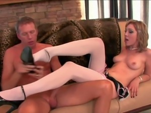 Young provocative tempting brunette slut Lily Labeau with nice natural boobs...