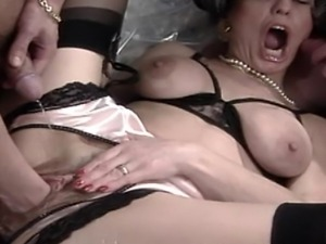 German Granny DP and Anal