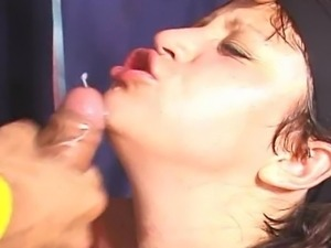 Brazilian party orgy hard fuck and cock sucking for cum