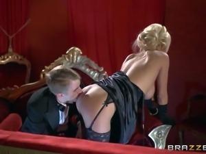 Milf Tia Layne finds opera boring and kills time fucking with Danny D....