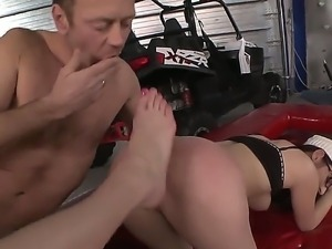 Hardcore feet fetish. Staring porn stars Mira,Rocco Siffredi and Sindy Vega....