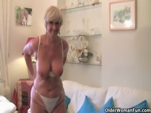 Do British grannies really prefer solo sex? free