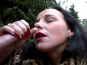 hot outdoor fucking with  Hot outdoor fucking at its best with a horny...