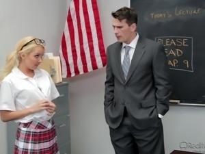 student's private meeting with teacher @ corrupt schoolgirls #07
