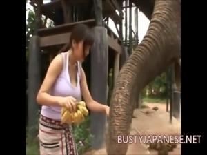 Busty japanese Erina Yamaguchi free