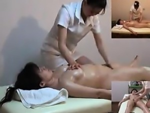Asian Girl Rubbed And Fingered