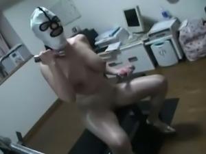 Hot japanese MILF pantyhose and foot fetish