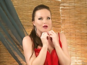 Silvia Saint masturbating with big desire