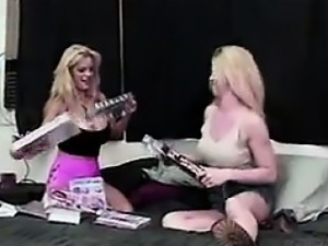 Blonde Whores Masturbating