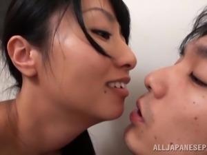 hot japanese slut gets rammed in the bathroom