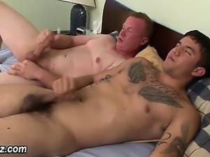 Cumshooting amateur studs