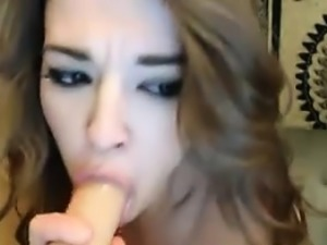 Hot Babe Enjoys her Toy like her ex Hard Cock