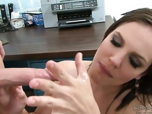Bobbi Starr gets impaled on pole by Jack Lawrence