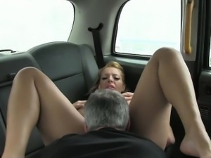 Giant boobies passenger nailed real hard by fraud driver