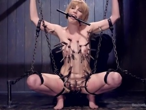 slutty kay got enchained
