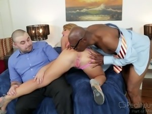 big ass blonde milf enjoying a bbc @ mom's cuckold #17